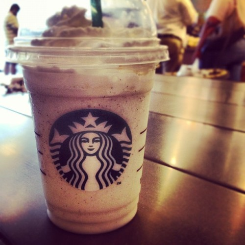 rare occasion (Taken with Instagram at Starbucks)