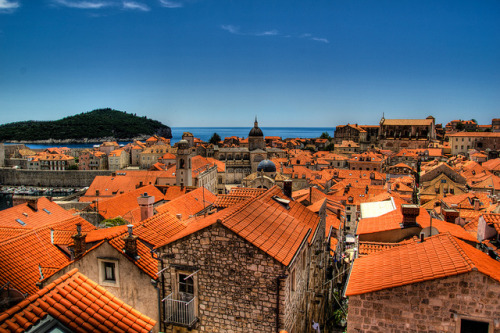 Dubrovnik's Old Town (by Dave Starling)