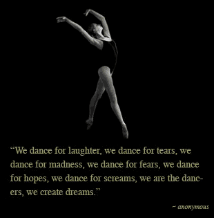 quotes about dance tumblr - photo #2