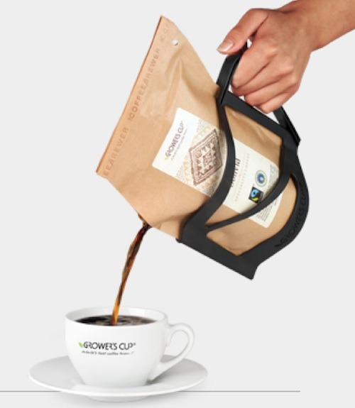 (via A Coffee Packaging That Acts As A French Press)
