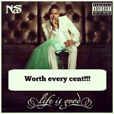 Do something that matters today, cop this! #LifeIsGood #Nas #MadeToBeAClassic (Taken with Instagram)