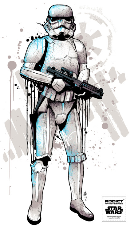 New Star Wars series coming soon!! Stormtrooper (one for 4 new designs) Addict x Star Wars x Mitchy Bwoy Check our Facebook for more details»