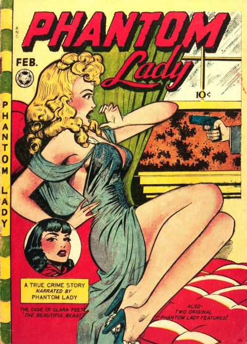 hollyhocksandtulips:  Phantom Lady, 1948