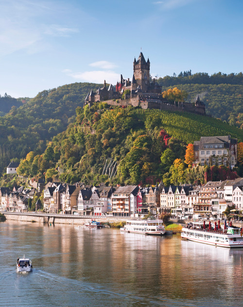 Europe's Most Scenic Waterways | Reichsburg Castle, Cochem, Germany