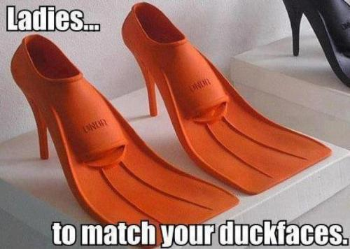 duck faced whores now have accessories
