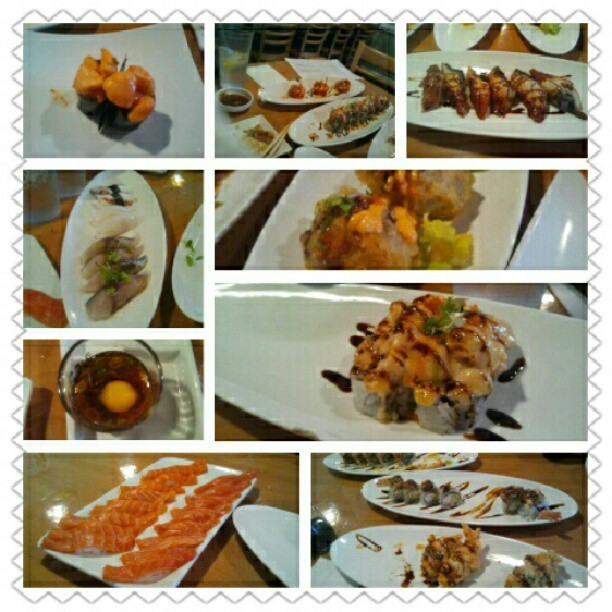 Lunch with the family! #AYCE #Asahi #Sushi #instagood  (Taken with Instagram at Asahi Sushi)