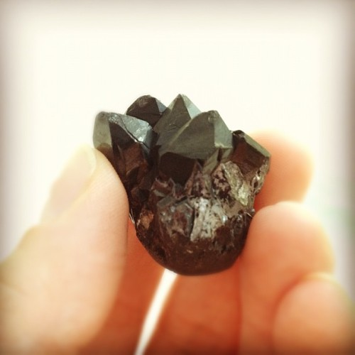 oh-darlingdarling:  Talk about a statement piece! #black #druzy #agate #jewelry #stone #handmade #crystal (Taken with Instagram)