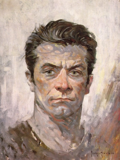 After a series of strokes the famed illustrator, Frank Frazetta continued to draw and paint with his left hand 'til the very end… What's my excuse??