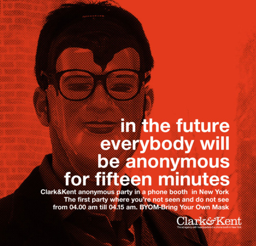 jaymug:  Clark&Kent: Fifteen minutes Party