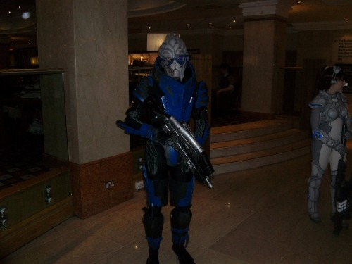 I'm still finding random photos of my Garrus cosplay even months later :D