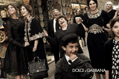maxitendance:  Belle Donne Italiane for Dolce & Gabbana Fall 2012