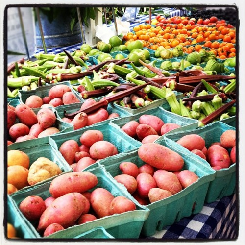 pbs-food:  Our weekly trip to the farmers' market never disappoints. (Taken with Instagram)