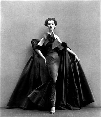 Dovima in Dior by Richard Avedon