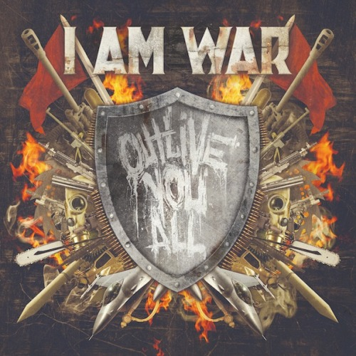 "You can listen to I Am War's new Track at Metal Injection and Preorder our new album ""OUTLIVE YOU ALL"" now!  To listen: http://www.metalinjection.net/av/i-am-war-track-premiere-featuring-the-vocalists-of-bleeding-through-and-atreyu To preorder: http://razorandtie.merchnow.com/search/?q=I+Am+War"