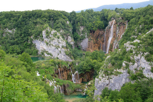 Plitvice lakes - 01 (by Sasa)