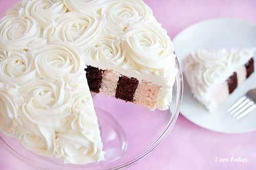sucresucresucre:  How to do a rose frosting on a cake. :)