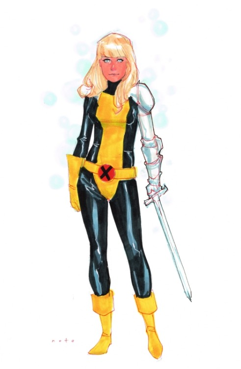 allnewmutants:  Magik by  Phil Noto