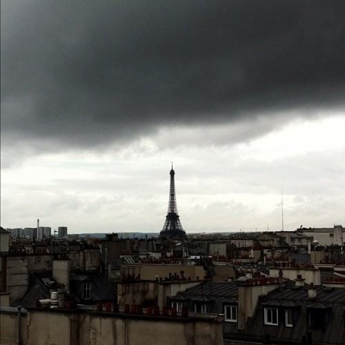 yimmyayo:  Love this view  I'll always have Paris <3