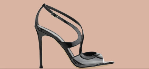 Also from Kate Spade. I love the curviness of these heels.