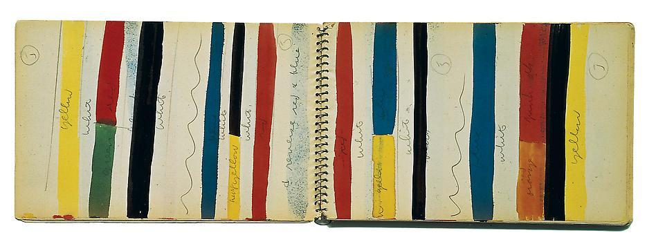 Ellsworth Kelly, Sketchbook #17  November 1951 - May 1952 via Matthew Marks Gallery