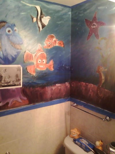 nemo wall two, still working on it