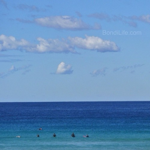 Bondi horizon #bondibeach #seeaustralia #bondi #seesydney #nofilter #nsw #australia #blue #horizon #straight #line #perfection (Taken with Instagram at Bondi Beach) Visit Bondi Life on Facebook | The Bondi Life Blog | Twitter | Google+ | Instagram | Pinterest
