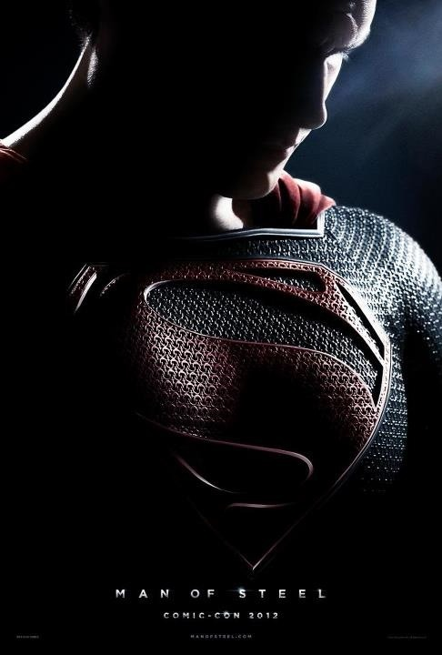 Superman's MAN OF STEEL poster revealed at Comic-Con