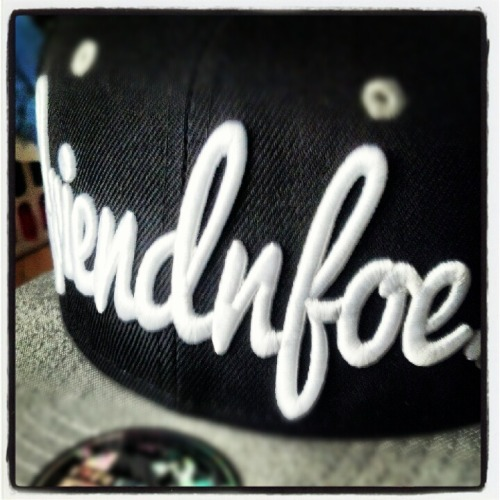 Yes! My snapback came in.  Shoutout to friendnfoe apparel! Sickest hat i have