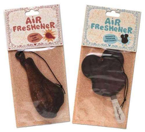 WELP, THIS IS A GREAT THING. laughingsquid:  Air Fresheners That Look & Smell Like Iconic Disney Park Foods