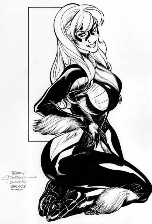 Black Cat by Terry Dodson.