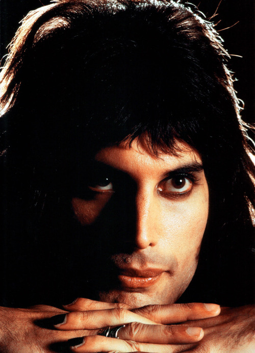Freddie Mercury by Mick Rock.