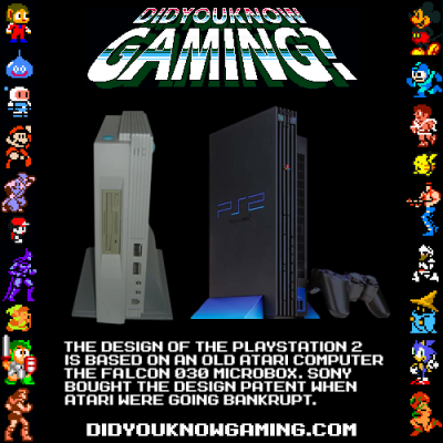 didyouknowgaming:  Sony and Atari.
