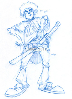 Warmup sketch of the day july 17 2012