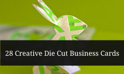 (via 28 Creative Die Cut Business Cards)
