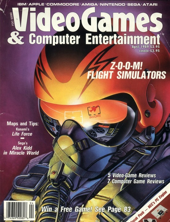 VideoGames & Computer Entertainment, April 1989 http://d059e3e6.tinylinks.co