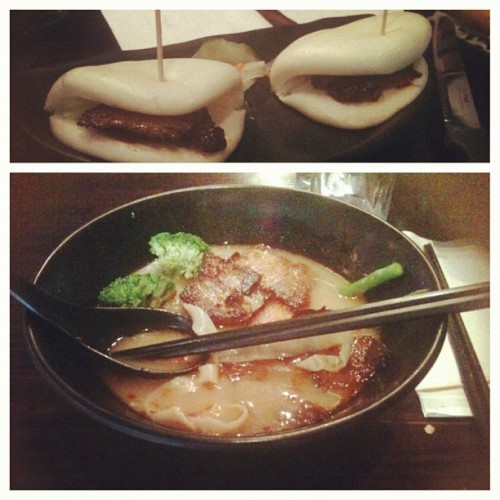 🍜4days #niunoodlehouse #bao #charsiuramen (Taken with Instagram)