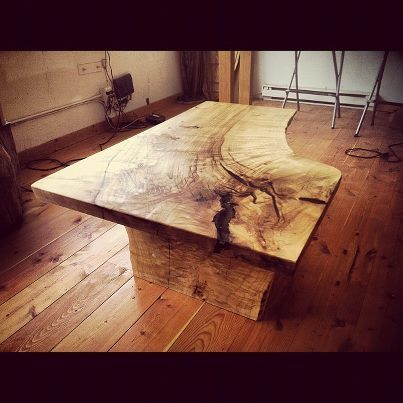 Amazing coffee table made from repurposed wood by the boys over at Vancouver Urban Timberworks. These guys have a pretty rad business model, you can read more about them here on the premier issue of LATER.mag