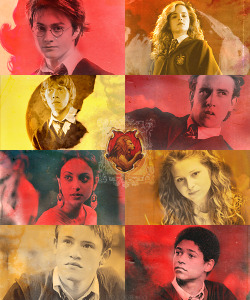 Gryffindor, the house of bravery - class of '97