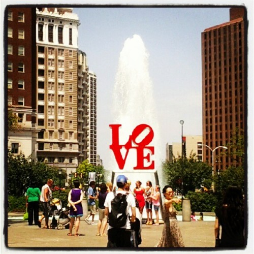 LOVE in Philadelphia (Taken with Instagram)