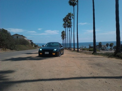 sickestlude:  Cruising down the beach.