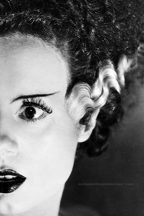boutiquehorrorhorrorboutique:  Elsa Lanchester l Bride of Frankenstein (1935)