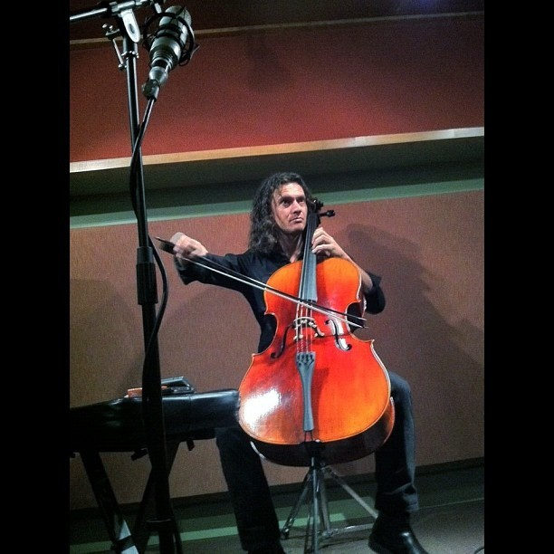 #Cello in the @Wreckroom (Taken with Instagram)