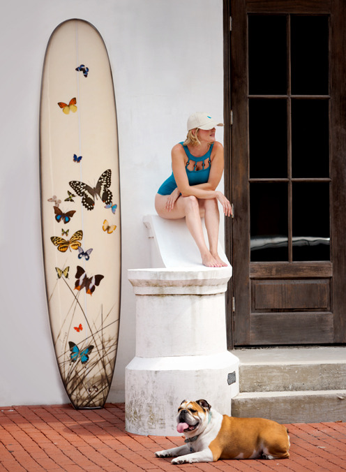 Now for sale online, TCS Art Surfboards.  Jeffery not included…Click for our new e-store http://tommycrowstudios.wazala.com