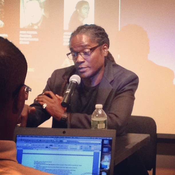 @jayanta on the #adsatwork panel at the @nypl cc: @apress http://www.apress.com/9781430238287 (Taken with Instagram at New York Public Library - Science, Industry and Business Library (SIBL))