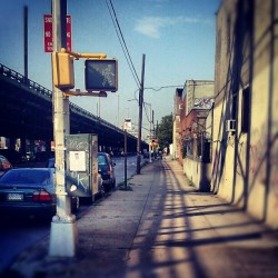 On 3rd Ave., #SunsetPark #Brooklyn #3rdAvenue #NewYorkCity #Desolate #Streets #Summer #Android #Androidography #AmateurPhotography  (Taken with Instagram at Sunset Park, Brooklyn)