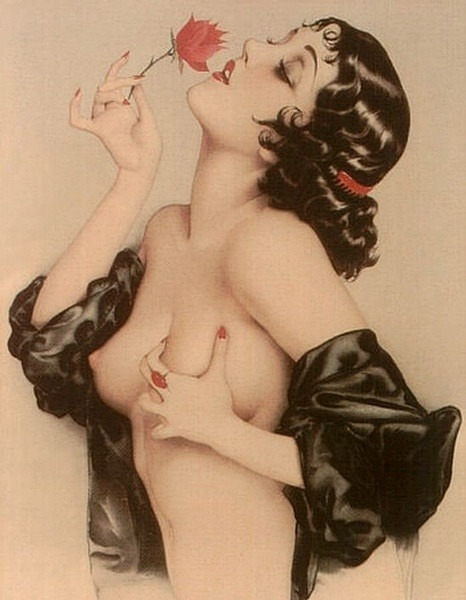 Olive Thomas by Alberto Vargas, Remembering Olive, 1920