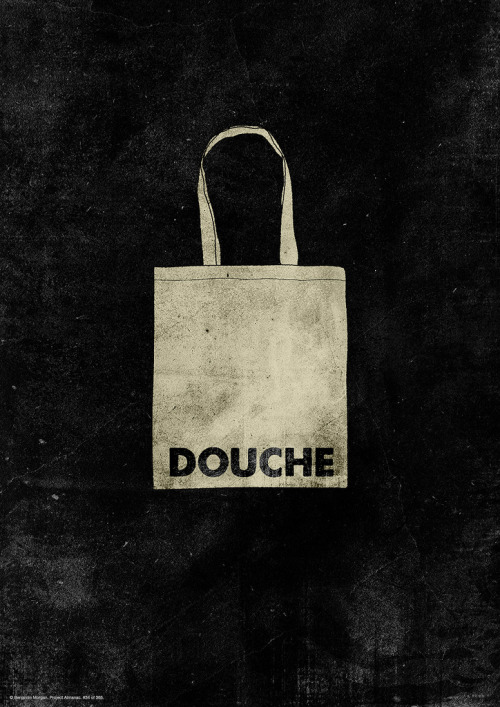 Douchebag. illustration by Benjamin Morgan ::via mmmmmorgan