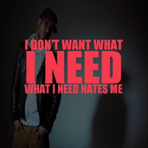 renegadevm:  I Don't Want What I Need.. What I Need Hates Me