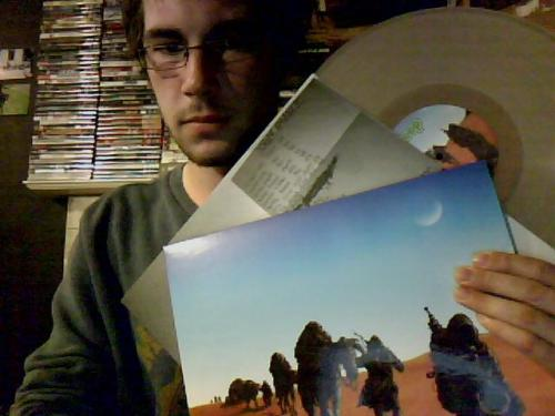 After a long and torturous wait, my clear vinyl copy of Dopesmoker arrived :3 Can't wait to give it a spin.
