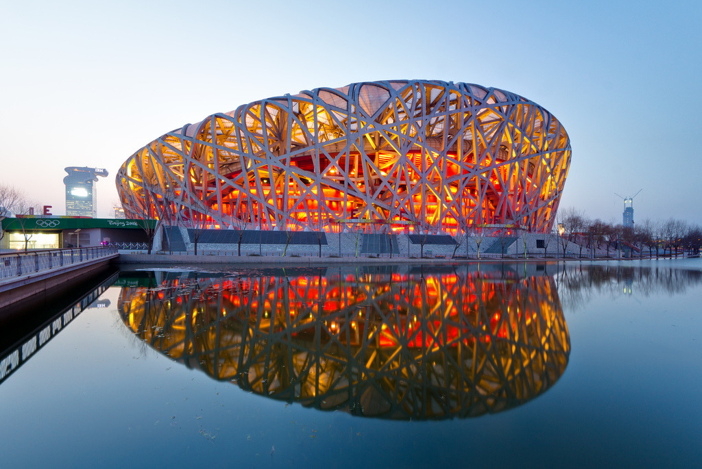 theabsolution:  Beijing National Stadium   (via imgTumble)